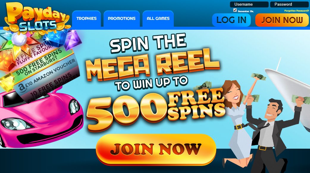 New Slot Site Payday slots